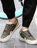 Men's Sneakers Spring Summer Light Soles Leatherette Athletic Casual Flat Heel