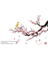 ZOOYOO® Bird And Plum Removable Wall Stickers Window Sticker Art Decals Mural DIY Wallpaper for Room Decal