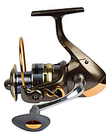 Fishing Reel Spinning Reels 2.6:1 13 Ball Bearings Exchangable General Fishing-DF GOLD