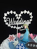 Papel Acetinado Decorações do casamento-10piece / Set Primavera Verão Outono Inverno Não Personalizado