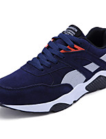 Men's Sneakers Spring Summer Comfort Tulle Outdoor Office & Career Athletic Casual Lace-up Walking
