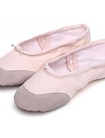 Obyčejné-Dámské-Taneční boty-Balet-Bavlna-Rovná podrážka