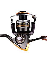 Molinetes de Pesca Molinetes Rotativos 2.6:1 11 Rolamentos Trocável Pesca Geral-DA2000