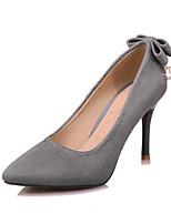 Bureau & Travail Habillé Soirée & Evénement-Noir Rose Gris-Talon Aiguille-club de Chaussures-Chaussures à Talons-Laine synthétique