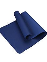 TPE Йога коврики Экологию Без запаха 4.0 мм Королевский синий Other