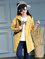 Girl Casual/Daily Print Suit & Blazer,Cotton Spring Fall Long Sleeve
