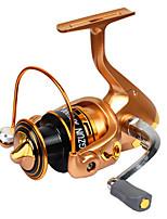 Fishing Reel Spinning Reels 2.6:1 11 Ball Bearings Exchangable General Fishing-DF GOLD