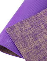 PVC Yoga Mats Ecológico Sem Cheiros 6 mm Roxa Other