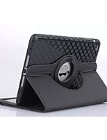 High Quality Diamond Pattern PU Protect Holster with 360 Degree Rotation for iPad 2/3/4