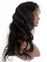 Glueless Lace Front Human Hair Wigs With Baby Hair 8''-24'' Body Wave Wig Indian Hair Wigs For Black Women Non-Remy Hair