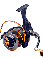 Molinetes de Pesca Molinetes Rotativos 2.6:1 16.0 Rolamentos Trocável Pesca Geral-XF2000