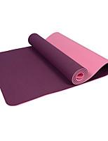 Йога коврики Экологию Без запаха 6 мм Розовый Зеленый Фиолетовый Темно-фиолетовый Other