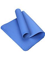 TPE Йога коврики Экологию Без запаха 6 мм Светло-голубой Other