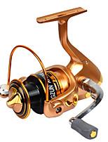Катушки для спиннинга Спиннинговые катушки 2.6:1 11 Шариковые подшипники Заменяемый Обычная рыбалка-LF2000