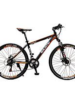 Горный велосипед Велоспорт 27 Скорость 26 дюймы/700CC Унисекс Взрослый Shimano Дисковый тормоз Передняя вилка с амортизациейРама из
