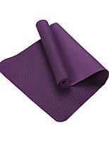 TPE Йога коврики Экологию Без запаха 8.0 мм Фиолетовый Other