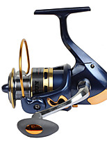 Fishing Reel Spinning Reels 2.6:1 13 Ball Bearings Exchangable General Fishing-SF2000