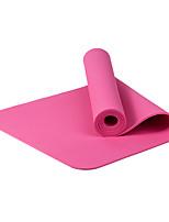 TPE Йога коврики Экологию Без запаха 6 мм Розовый Зеленый Фиолетовый Небесно-голубой Other