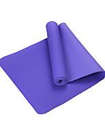 TPE Йога коврики Экологию Без запаха 6 мм Зеленый Фиолетовый Светло-голубой Розовый Синий Other