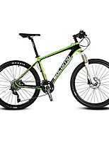 Горный велосипед Велоспорт 30 Скорость 26 дюймы/700CC 44мм Унисекс Взрослый Shimano Гидравлический дисковый тормозПередняя вилка с