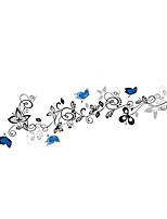 Animaux Botanique Floral Stickers muraux Autocollants avion Autocollants muraux décoratifs,Vinyle Matériel Décoration d'intérieurCalque