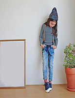 Girl's Casual/Daily Solid PantsCotton Winter / Fall Blue