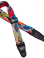 Acoustic Electric Dacron Guitar Strap  Electric Wound Guitar straps Bass Guitar Brand Straps