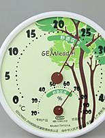 цвет случайный случайный цвет Ming высокая температура в помещении бытовой и влажности метр мини температура гигрометр педантичность