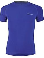 Nuckily Camisa para Ciclismo Unissexo Manga Curta Moto Camiseta Secagem Rápida Respirável Confortável Poliéster Clássico Primavera Verão