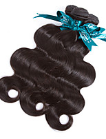 Natural Color Hair Weaves peruvian Texture Body Wave 12 Months 3 Pieces hair weaves