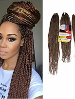Senegal Twist  #27 Synthetic Hair Braids 18inch 20inch 22inch Kanekalon 81 Strands 200g  Multipal Pack for Full Heads