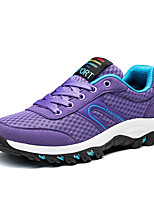 Men's Sneakers Spring Fall Comfort PU Casual Lace-up Royal Blue Fuchsia Purple Running