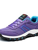 Лиловый Пурпурный Тёмно-синий-Для мужчин-Повседневный-ПолиуретанУдобная обувь-Кеды