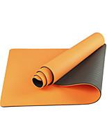 Йога коврики Экологию Без запаха 6 мм Розовый Зеленый Оранжевый Фиолетовый Other