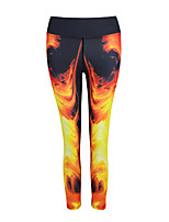 Women's Running Bottoms Breathable Quick Dry Yoga Exercise & Fitness Running Modal Polyester TightIndoor Outdoor clothing Athleisure