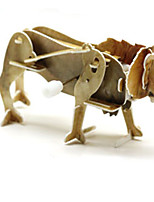 Пазлы 3D пазлы Строительные блоки Игрушки своими руками Животный принт 1 Оригинальные и забавные игрушки