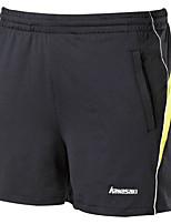 унисекс Бег Шорты Удобный Лето Бадминтон Полиэстер Свободный силуэт Спорт в свободное время Одежда для спорта и отдыха Спортивная одежда