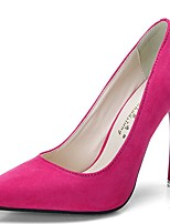 Damen-High Heels-Büro Kleid Party & Festivität-Vlies-Stöckelabsatz-Komfort Club-Schuhe-