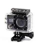SJ5000 Caméra d'action / Caméra sport 4608 x 3456 Wi-Fi Etanches Antichocs 2 CMOS 32 Go H.264 30 M Universel Voyage