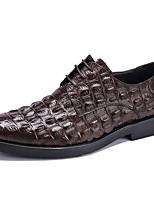 נעלי אוקספורד-עור-נעלי בולוק-שחור בורגונדי עירום-חתונה משרד ועבודה יומיומי מסיבה וערב-עקב שטוח
