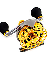 Fishing Reel Baitcast Reels 2.6:1 7 Ball Bearings Left-handed General Fishing-BT1000