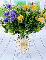 1 Une succursale Plastique Autres Fleur de Table Fleurs artificielles 24*24*24