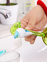 Cute cartoon Fishbone Modelling To Squeeze Toothpaste Device Clip Content Preservation Moisture Fruit Peel Them Color Random