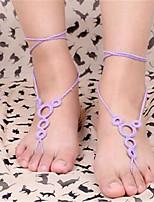 Decorative Accents Fabric Heel
