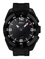 1.2inch intelligente Uhr mtk2502 Smartwatch Herzfrequenzmonitor Fitness Tracker rufen sms Erinnerung Kamera für Android ios