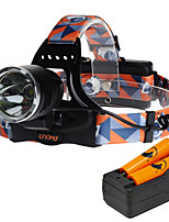 U'King ZQ-X8000E-US Cree XM-L T6 LED 2000LM 3 Mode Headlamps for Camping/Hiking/Caving Everyday Use Cycling/Bike Hunting Traveling Multifunction