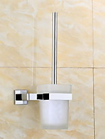 Toilet Brushes & Holders Modern Square Stainless Steel