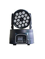 u'king® 18 светодиодов двигающихся ступеней головного света DmX управление звуком для DJ показать ТВ театр дискотек домой партии и т.д.