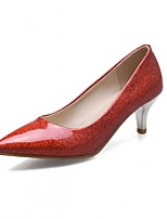 Women's Heels Spring Summer Fall Winter Comfort Novelty Patent Leather Leatherette Wedding Office & Career