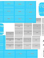 1set 48pcs Mixed Black White Beautiful Lace Design Nail Art DIY Watermark Sticker Nail Water Transfer Decals B265-288